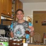 harvest honey at home